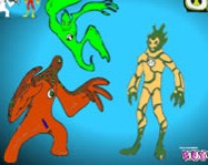 Ben 10 alien color kifest� j�t�kok