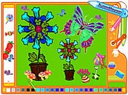 Coloring picture butterfly online