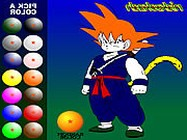 Dragon Ball Z painting kifest� j�t�kok